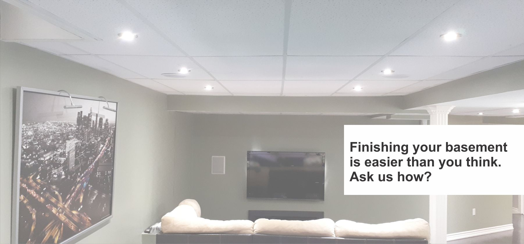 Basement Finishing Service