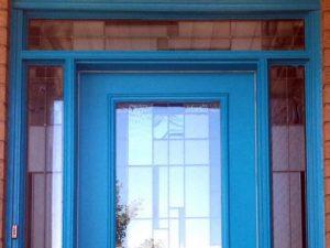 Entrance Door Painting