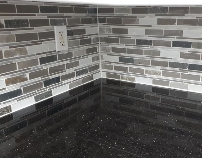 Mosaic Tile Back Splash