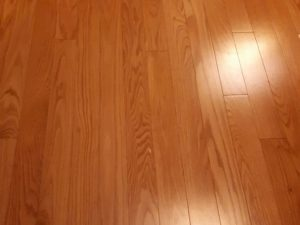 Canadian Light Oak Hardwood flooring edge 2
