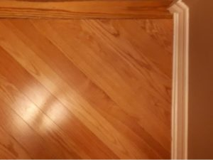 Canadian Light Oak Hardwood flooring edge