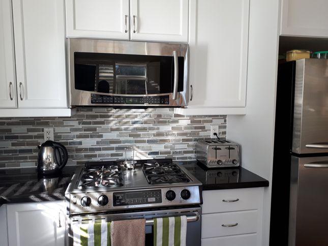 Kitchen upgrade back splash
